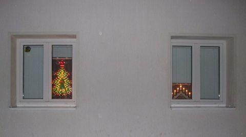 FOTKA - Vánoční okna