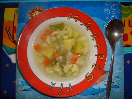 FOTKA - a květáková polívečka :-)