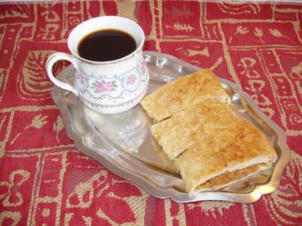 FOTKA - štrůdlík a kafíčko *