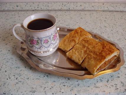 FOTKA - štrůdlík a kafíčko