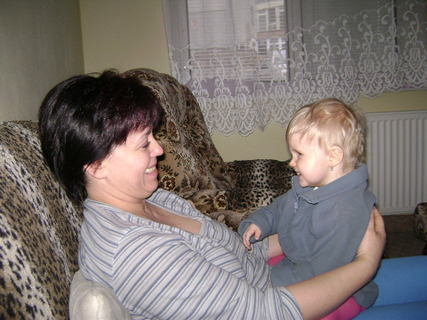 FOTKA - Myška s babičkou