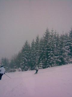 FOTKA - Dnešní lyžovačka na Bílé