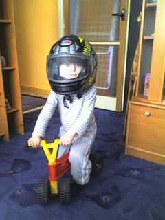 FOTKA - Budu motorkářem!