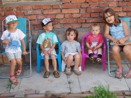 FOTKA - u strýce na chatě