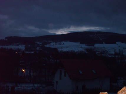FOTKA - Noční výhled z okna.