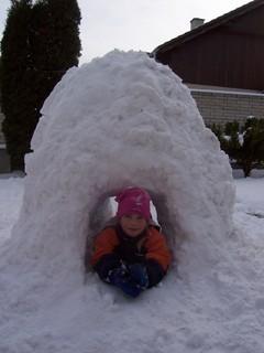 FOTKA - Ve sněhovém tunelu 2