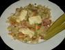 Zapékané těstoviny na talíři