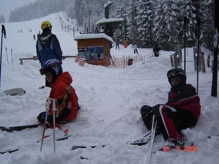FOTKA - Beskydy odpočinek na lyžích