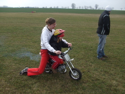 FOTKA - S Vali na motorce