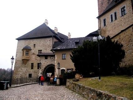 FOTKA - Loketský hrad - vstupní brána