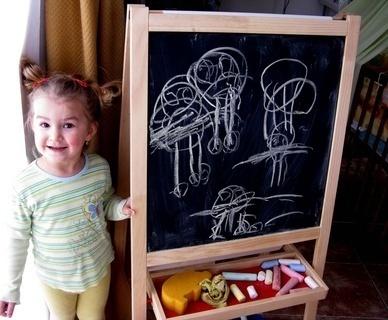 FOTKA - Když malovat, tak celou rodinu