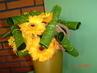 kytice z gerber a listů