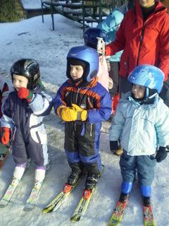 FOTKA - Adámek na lyžích
