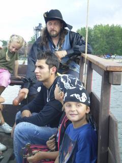 FOTKA - na pirátské lodi