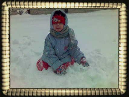 FOTKA - jelibo sněhuláček?