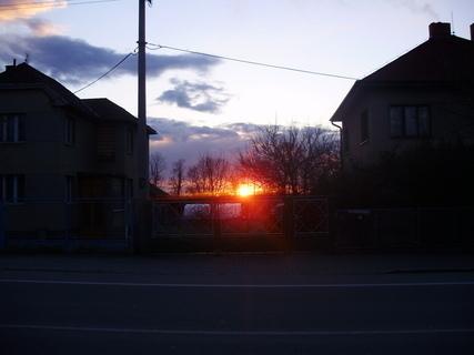 FOTKA - Březnový západ slunce