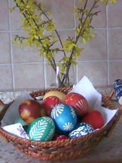 FOTKA - košíček vajíček