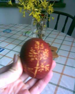 FOTKA - vzorové vajíčko