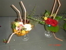 poháry z kytiček