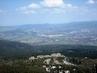 Výhled z Ještědu na Prům.zonu Sever, Jizerské hory- 10.4.2009