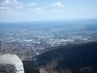 Výhled do dálky z Ještědu na  Jizerské hory a Krkonoše- 10.4.2009.
