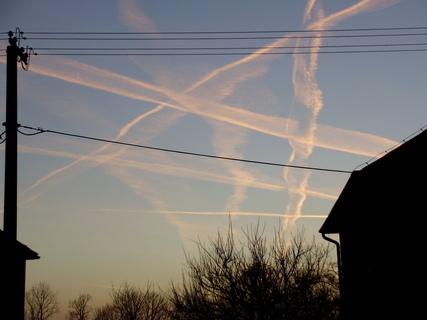 FOTKA - Malování na nebe