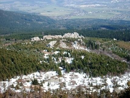 FOTKA - Výhled z Ještědu - 10.4.2009.