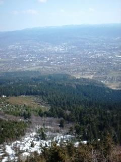 FOTKA - Jarní výhled z Ještědu- duben 2009.