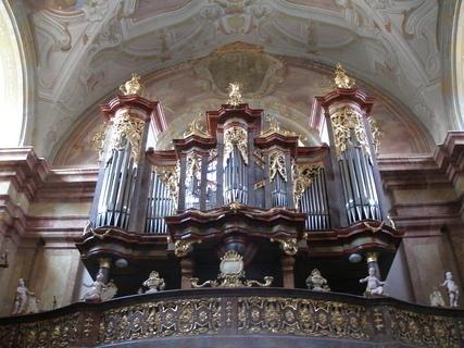 FOTKA - Paulánský klášter Vranov - varhany