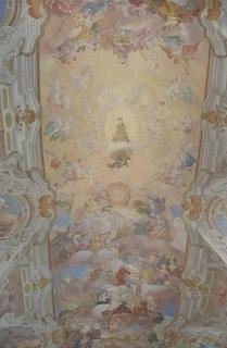 FOTKA - Paulánský klášter Vranov - freska