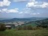 Výhled z Ještědského hřebene na Jeřmanice,Liberecko / duben 2009/.