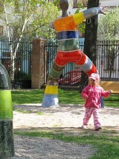 FOTKA - D�tsk� park v b�val�ch Gajerov�ch kas�rn�ch,,