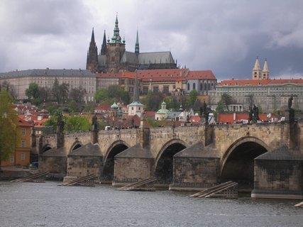 FOTKA - Praha - Karlův most, Katedrála sv.Víta