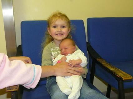 FOTKA - moje nová sestřička