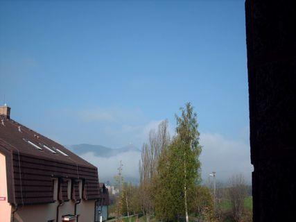 FOTKA - Výhled z okna na Ještěd -19.4.2009.
