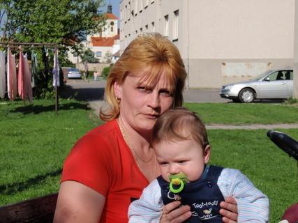 FOTKA - Tomášek s maminkou