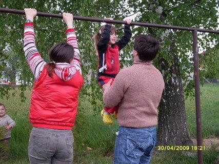 FOTKA - sportuje celá rodina:-)