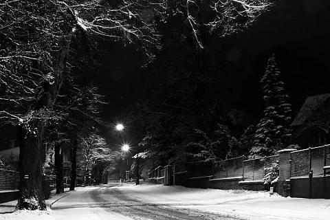 FOTKA - zima v ulicích