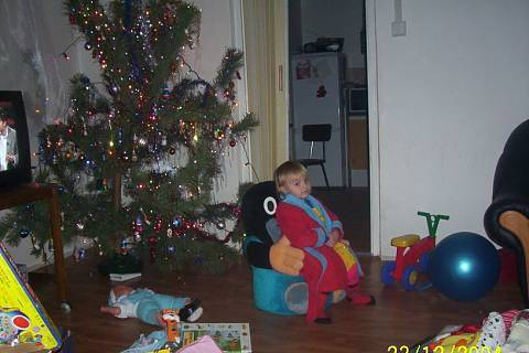 FOTKA - Eli a Vánoce