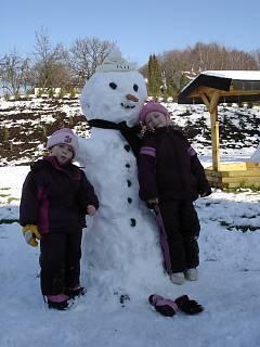 FOTKA - Náš sněhulák