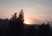 Západ slunce za Ještědem - 9.5.2009.