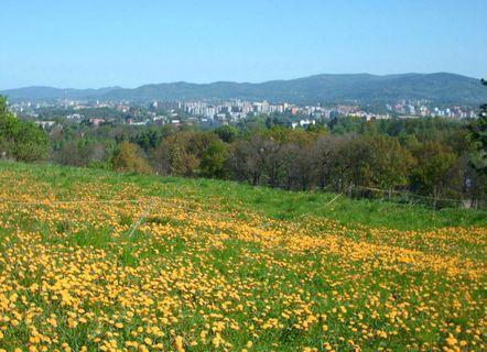 FOTKA - Májový výhled na Liberec i Jizerské hory , 2.5.2009.