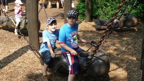 FOTKA - kluci v zooparku