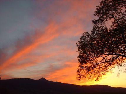 FOTKA - Dnešní západ slunce - 12.5.2009