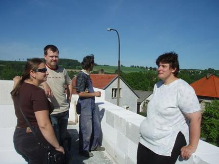 """FOTKA - udělali jsme si """"kontrolní den"""" na stavbě :)"""
