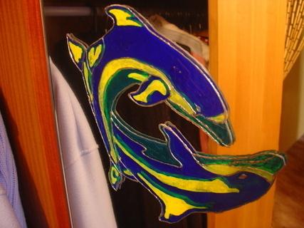 FOTKA - Delfínci na zrcadle