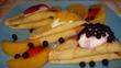 Palačinky s ovocem