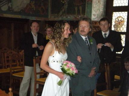 FOTKA - Sestřina svatba na Bouzově.