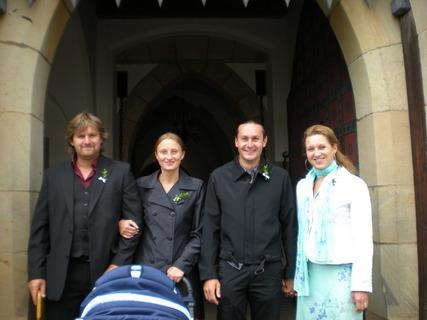 FOTKA - Sestřina svatba na Bouzově....