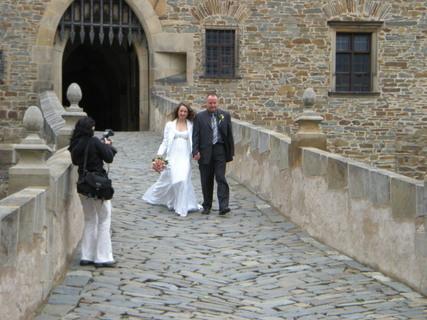 FOTKA - Sestřina svatba na Bouzově......